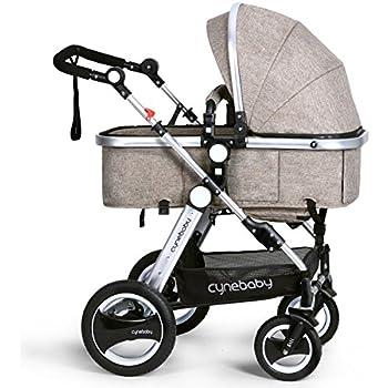 Amazon.com : Besrey 2 in1 Luxury Newborn Baby Stroller for Infant ...