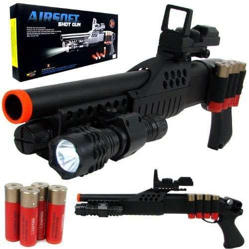 (UKARMS 1:1 Pump Action Pistol Grip Spring Powered Airsoft Shotgun BB Gun)