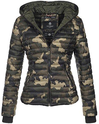 Navahoo Uni Camouflage Blouson Blouson Navahoo Femme wYxqd7H7n4