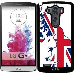 Funda para LG G3 - Reino Unido, Con El Indicador De Unión by Cadellin