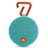 Best Portable Waterproof Speakers - JBL Clip 2 Waterproof Portable Bluetooth Speaker (Teal) Review