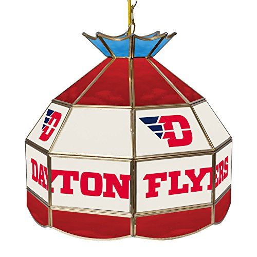 NCAA University of Dayton Tiffany Gameroom Lamp, 16