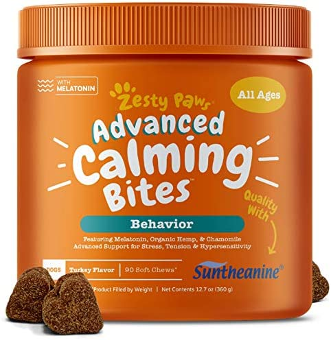 Zesty Paws Advanced Calming Chews product image