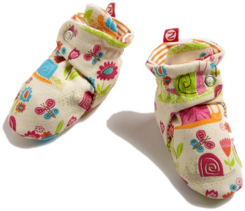 Zutano Baby-girls Infant Garden Snail Bootie