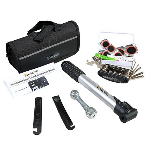 WEANAS Bicycle Bike Cycling Multifunctional Tyre Repair Tools Kits Set