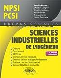 Sciences industrielles de l'ingénieur MPSI - PCSI - 3e édition actualisée