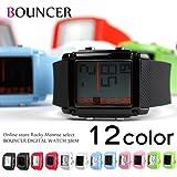 バウンサー(BOUNCER) 腕時計 メンズ バウンサースポーツ デジタルラバーウォッチ 防水 381M