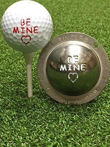 Tin Cupゴルフボールカスタムマーカー線形ツール – Be Mine   B072VS287D