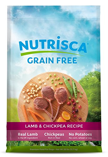 Nutrisca Lamb And Chick Pea Food For Pets, 28-Pound