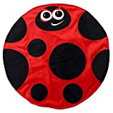 Placed on the leg 5LB Ladybird Weighted Lap Pad helps reduce Stress and Anxiety and provides Calming Deep Comfort and Cozy Feelings for Kids with Autism, ADHD, Aspergers and SPD