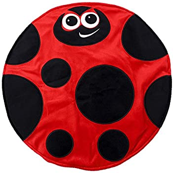Placed on The Leg 5LB,18x 18inches Kids Ladybird Weight Lap Pad Made with Cozy Feelings Material