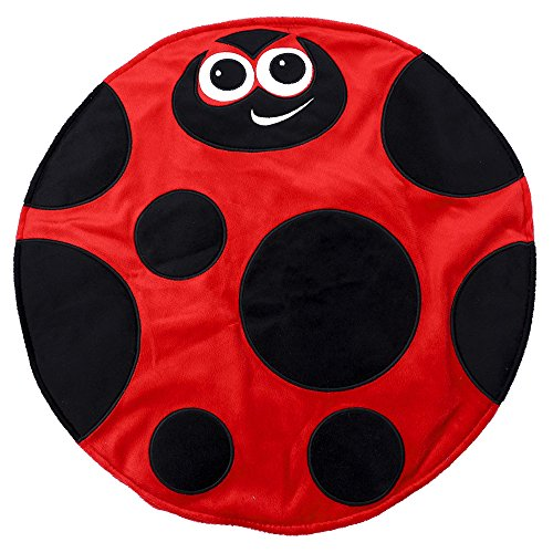 Placed on the leg 5LB Ladybird Weighted Lap Pad helps reduce Stress and Anxiety and provides Calming Deep Comfort and Cozy Feelings for Kids with Autism, ADHD, Aspergers and SPD by KINGDOM SECRET (Image #6)