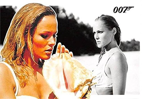 Ursula Andress trading card James Bond 007 2010 Archives #3 Honey Ryder Dr No