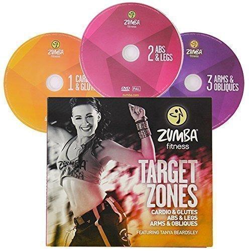 Zumba Fitness Target Zones 3 DVD´s