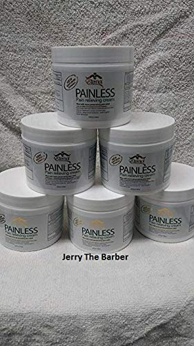 6 Painless - Pain Relieving cream for Arthritis, Muscle Pains, Carpal Tunnel- Wholesale - Membership Included from Eternal
