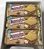 Ferrero Hanuta Wafers with Hazelnut Cream, 18x 2pcs