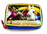 Nino Percussion Kids' Rhythm Set with 9 Pieces, Includes Egg & Fruit Shakers, Claves, Triangle, Caxixi, and Guiro - NOT MADE IN CHINA - Perfect for Classroom Music, 2-YEAR WARRANTY (NINOSET4)