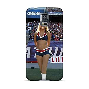 High Quality New England Patriots Nfl Cheerleaders Case For Galaxy S5 / Perfect Case