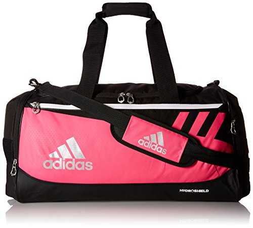 adidas Team Issue Duffel Bag, Shock Pink, Medium