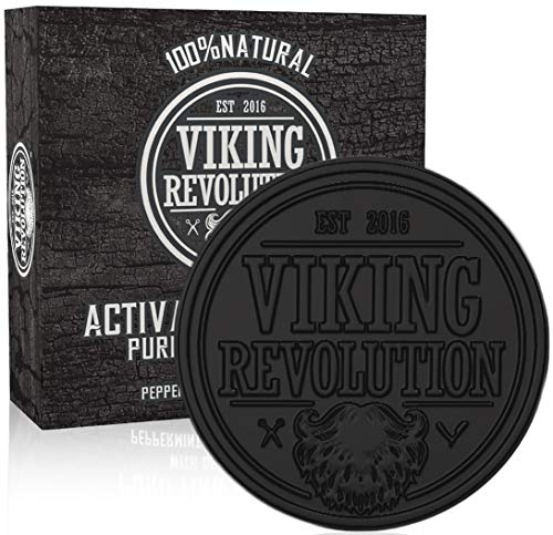 VIKING REVOLUTION Activated Charcoal Soap product image