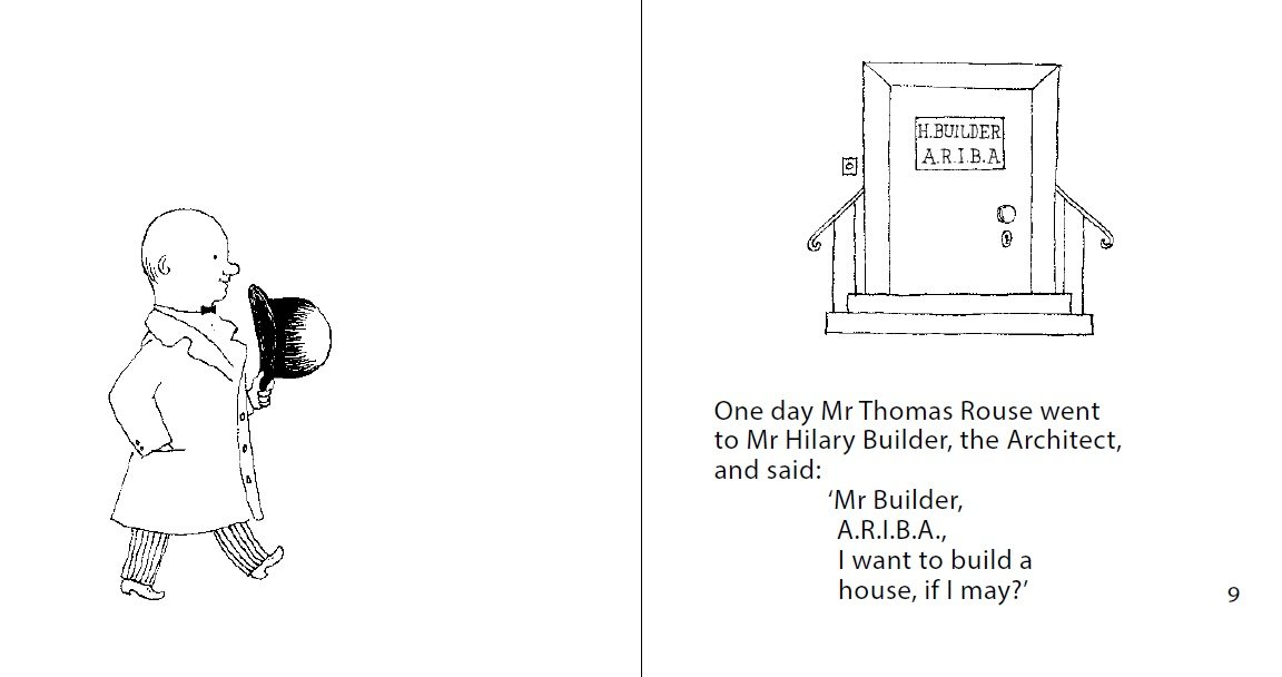Mr Rouse Builds His House: Stefan Themerson, Barbara Wright, Franciszka  Themerson: 9781849761543: Amazon.com: Books