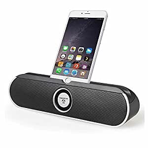 TECEVO S100 NFC Bluetooth Speaker With Dock / Stand For iPad , Tablet PCs , Mobile Phones