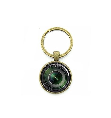 Fotografía clave cadena lente de la cámara el momento lienzo ...