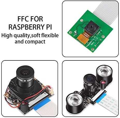ALLPARTZ Waveshare Raspberry Pi Camera Cable FFC 60cm