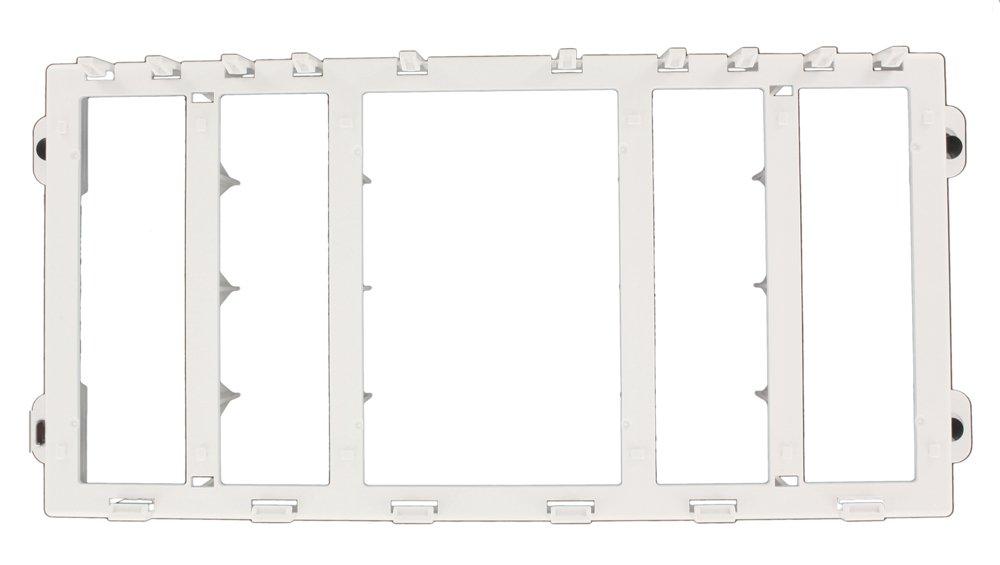Leviton 47612-EBK Expansion Plastic Bracket, White