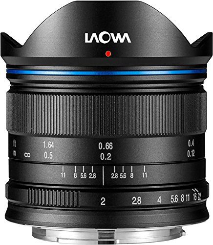laowa ve7520mftstblk - 7.5 mm Lens for Micro 4/3 Cameras (16.9 MP, HD 720p) Black (Best Micro 4 3 Camera)