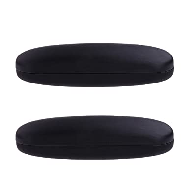 481d1b4992a Image Unavailable. Image not available for. Color  Homyl 2pcs Glasses Case  Hard Shell Protects   Stores Sunglasses Reading Eyeglasses and Most Eyewear