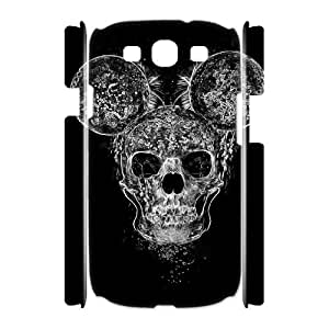 HEHEDE Phone Case Of SKULL Unique Cool Painting For Samsung Galaxy S3 I9300