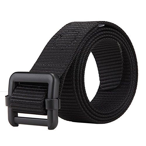 [Dew Tactical Nylon Duty Army Belt For Men Military Style Casual Outdoor Adjustable Webbing Buckle Operator Belt for] (Make Shoulder Pads Football Costume)