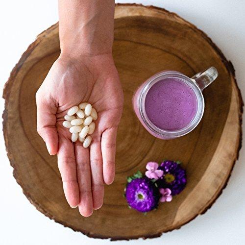 Biotin 10000mcg with Organic Coconut Oil  Supports Healthy Hair Skin amp Nails  NonGMO Verified amp Vegan Certified 120 VeggieSoftgels