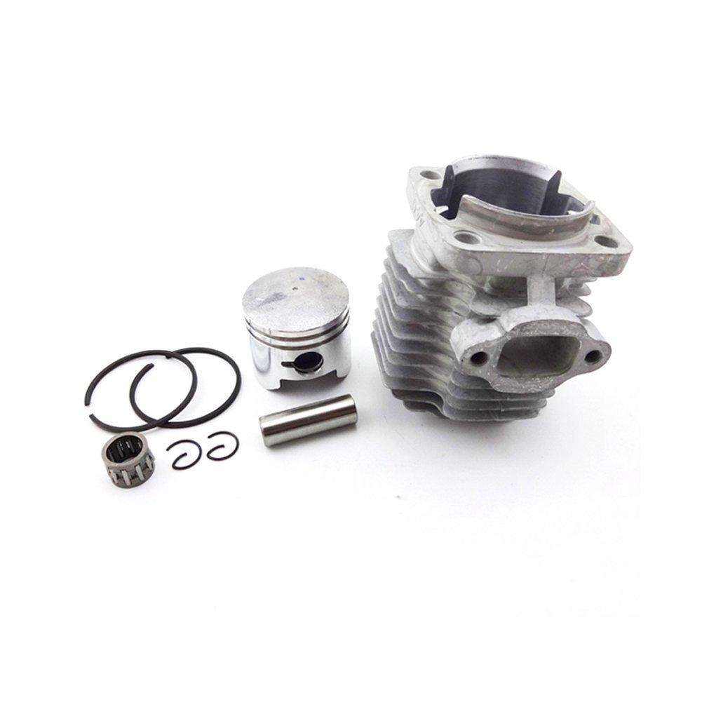 TC-Motor 44mm Cylinder Head + 12mm Piston Kit Pin Bearing Rings For 49cc 2 Stroke Engine Parts Chinese Kids Mini Quad ATV Pocket Dirt Bike