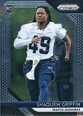 2018 Panini Prizm Football  279 Shaquem Griffin Rookie RC Rookie Seattle  Seahawks Official NFL Trading 93423d6b4