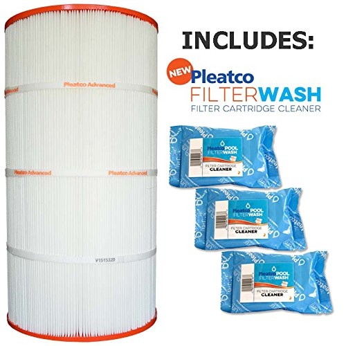 Pleatco PWW100-4 Replacement Cartridge for Waterway Pool 100 sq ft