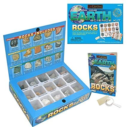 Amazon.com: Earth Rock Science Kit: Toys & Games
