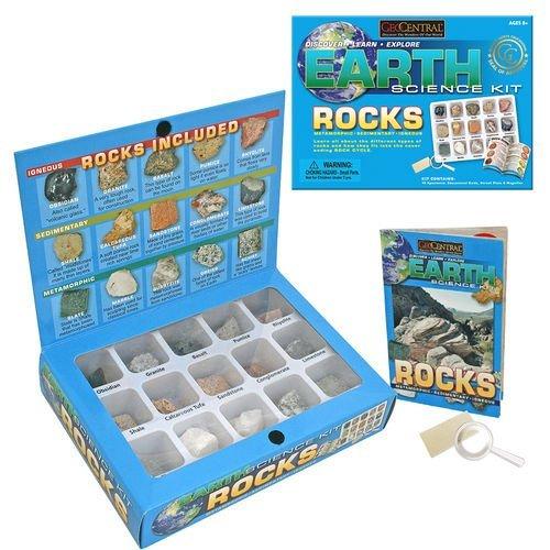 (GeoCentral Rock Earth Science Kit)