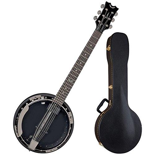 [Dean BW6E BC Backwoods 6 String Acoustic Electric Banjo w/ Case] (Dean Backwoods 6 String Banjo)