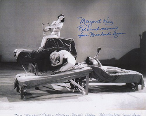 Margaret Kerry Signed Peter Pan Red Haired Mermaid From Neverland 10x8 Photo COA (Signed Mermaid)