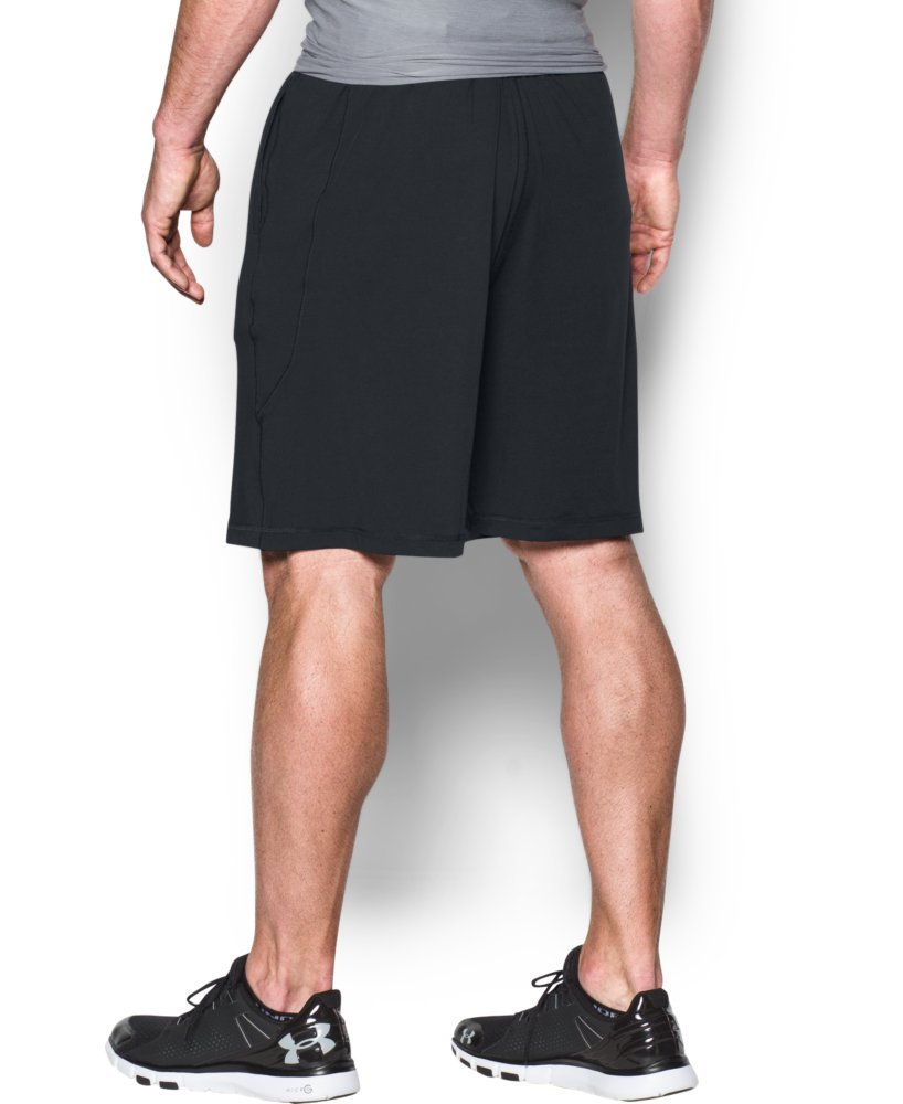 Under Armour Men's Raid 10'' Shorts, Black/Graphite, Medium by Under Armour (Image #2)