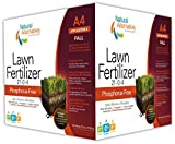 Natural Alternative Fall Lawn Fertilizer 21-0-4 Enriched Review and Comparison