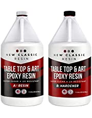 EPOXY Resin for Art, Crafts & Table Tops - Super Clear 2 Gallon kit.