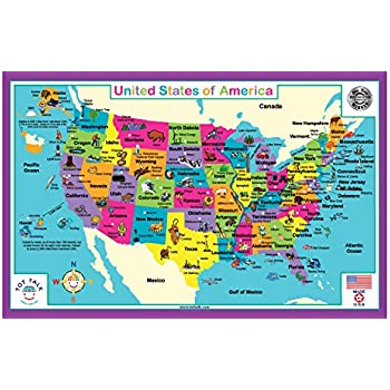 tot talk united states of america placemat