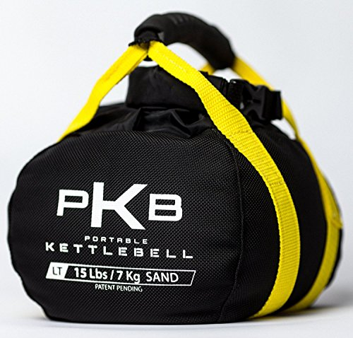 Kettlebell Set - The Best Exercise Equipment For Your Workout - Adjustable Kettlebells - Portable Weights - Soft Kettle Bell - Weight Set For Fitness - SATISFACTION GUARANTEE (Yellow 0-15 lbs)