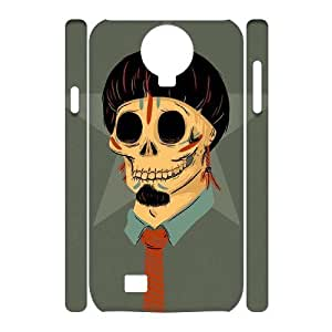 C-EUR Cell phone case Skull Hard 3D Case For Samsung Galaxy S4 i9500 by Maris's Diary