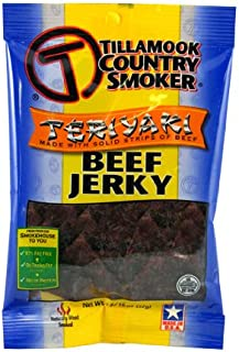 product image for Tillamook Teriyaki Jerky, 3.25-Ounce (Pack of 4)