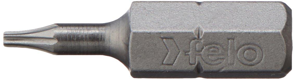 1 Felo 0715750779 T5 Torx Industrial Bit on 1//4 Stock