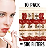 Cut-Nic Cigarette filters for Cigarette Smokers (10 Packs)